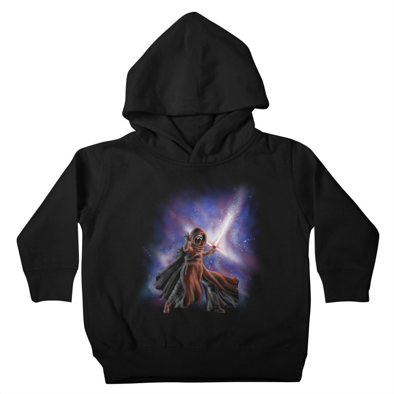 Galactic Lightsaber Kids Toddler Pullover Hoody by Juleah Kaliski Designs