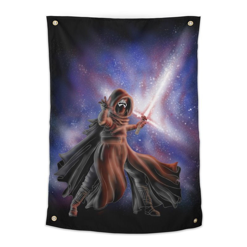 Galactic Lightsaber Home Tapestry by Juleah Kaliski Designs
