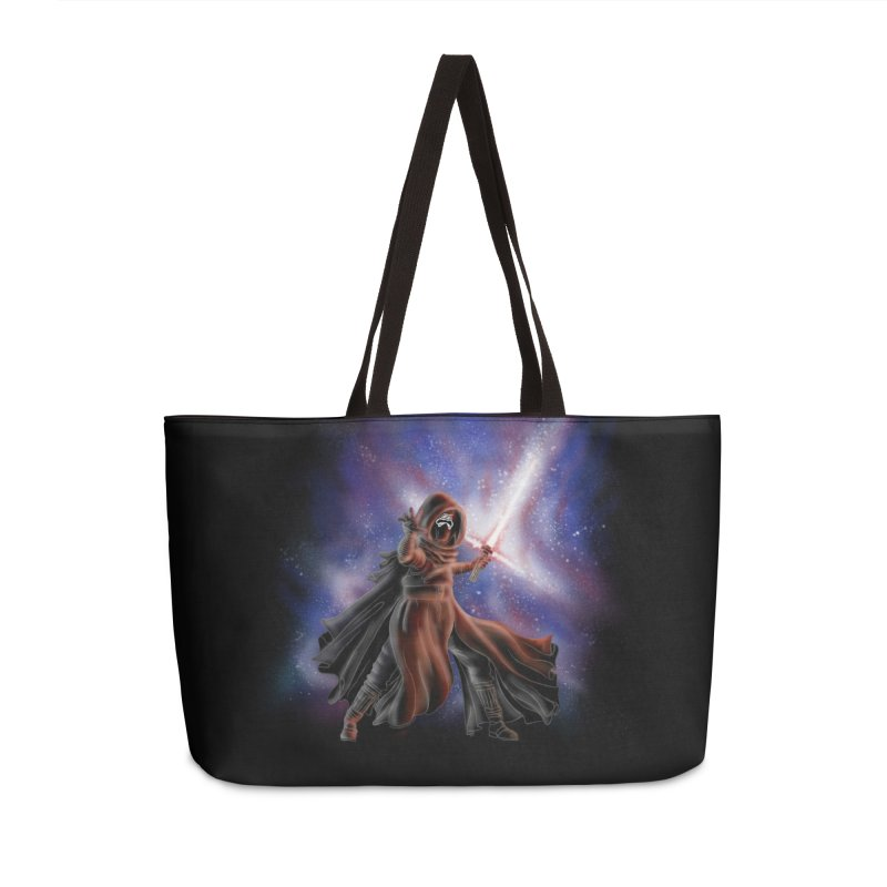 Galactic Lightsaber Accessories Weekender Bag Bag by Juleah Kaliski Designs