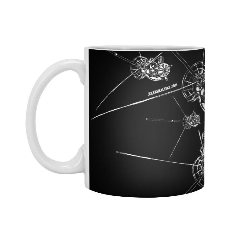 All the Cassini's (BLACK MUG) Accessories Mug by Juleah Kaliski Designs