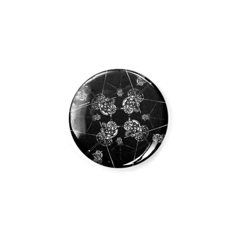 All the Cassini's (BLACK MUG) Accessories Button by Juleah Kaliski Designs