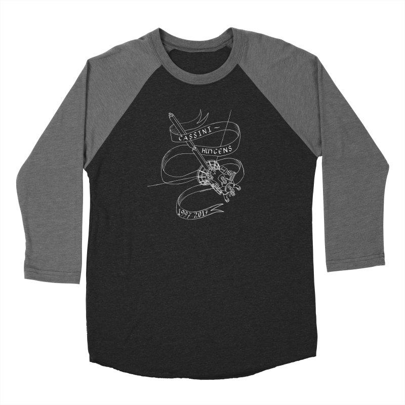 Cassini-Huygens Men's Longsleeve T-Shirt by Juleah Kaliski Designs