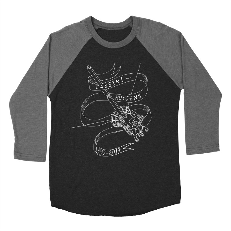 Cassini-Huygens Men's Baseball Triblend T-Shirt by Juleah Kaliski Designs