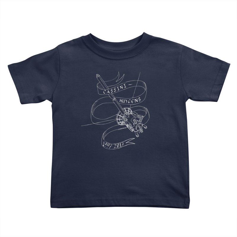 Cassini-Huygens Kids Toddler T-Shirt by Juleah Kaliski Designs