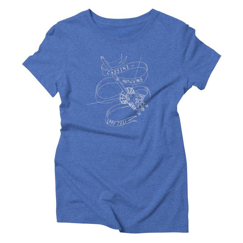 Cassini-Huygens Women's Triblend T-Shirt by Juleah Kaliski Designs