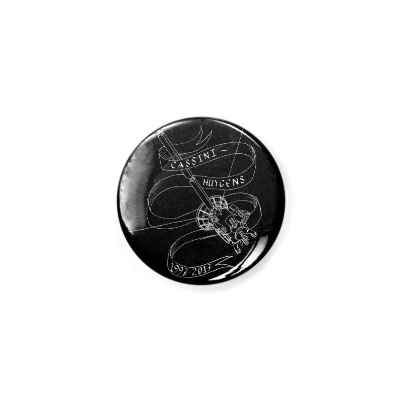Cassini-Huygens Accessories Button by Juleah Kaliski Designs