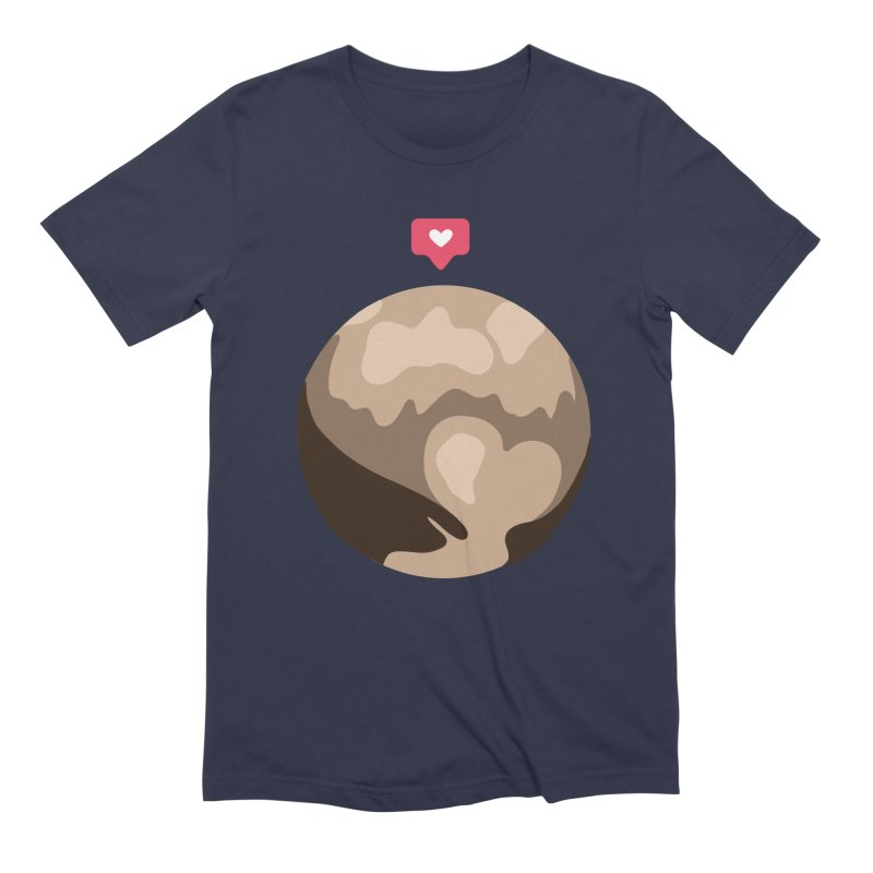 I like Pluto Men's Extra Soft T-Shirt by Juleah Kaliski Designs