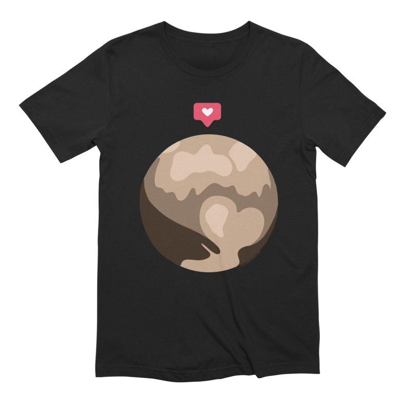 I like Pluto Men's Extra Soft T-Shirt by Juleah Kaliski Designs