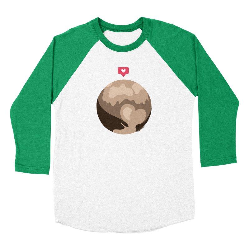 I like Pluto Men's Longsleeve T-Shirt by Juleah Kaliski Designs