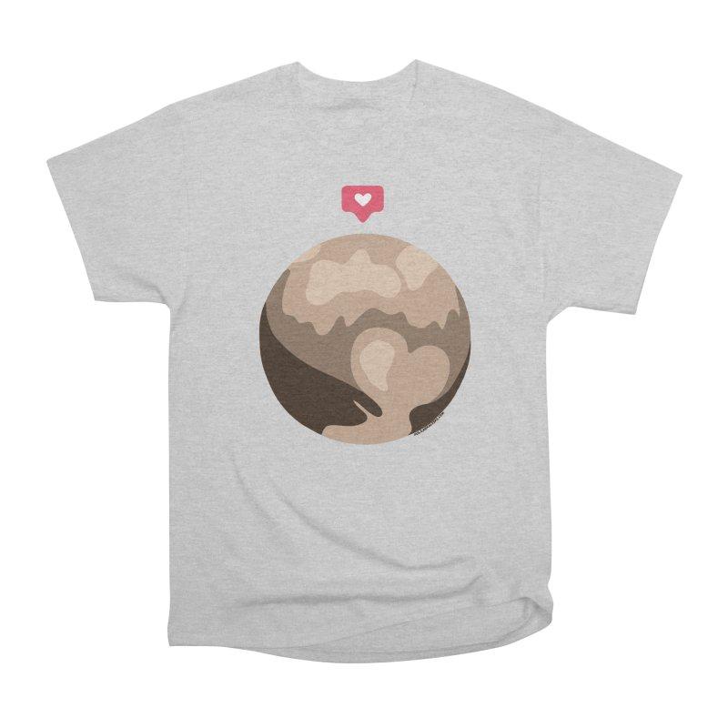 I like Pluto Women's Classic Unisex T-Shirt by Juleah Kaliski Designs
