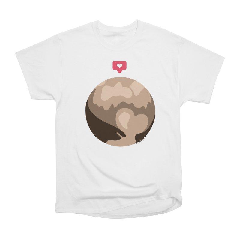 I like Pluto Women's Heavyweight Unisex T-Shirt by Juleah Kaliski Designs