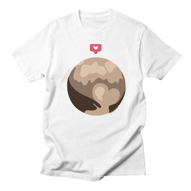 I like Pluto Men's Regular T-Shirt by Juleah Kaliski Designs