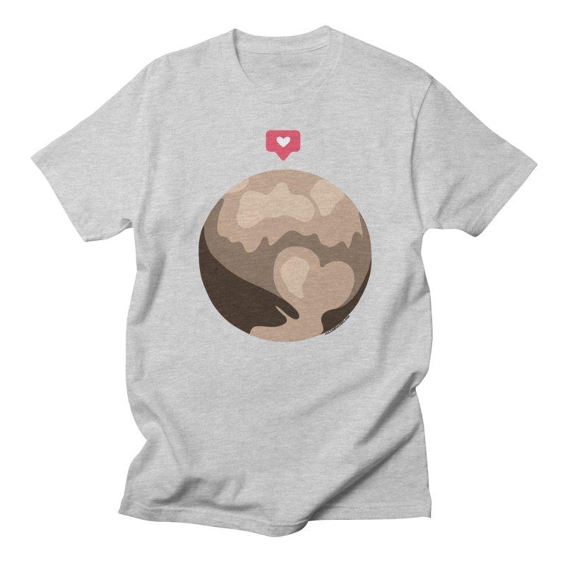 I like Pluto Men's T-Shirt by Juleah Kaliski Designs