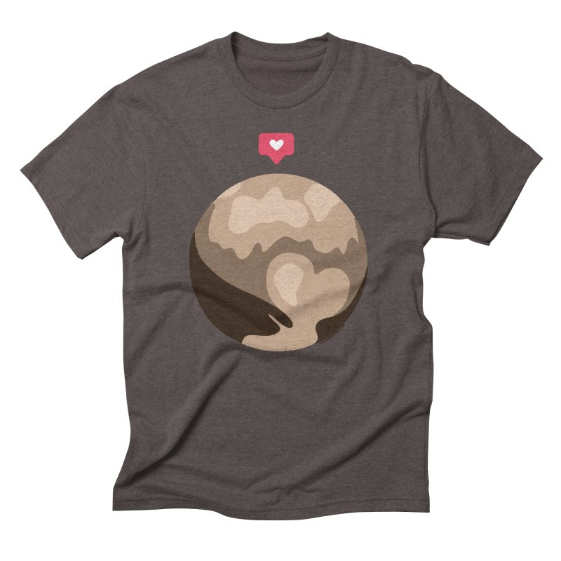 I like Pluto Men's Triblend T-Shirt by Juleah Kaliski Designs