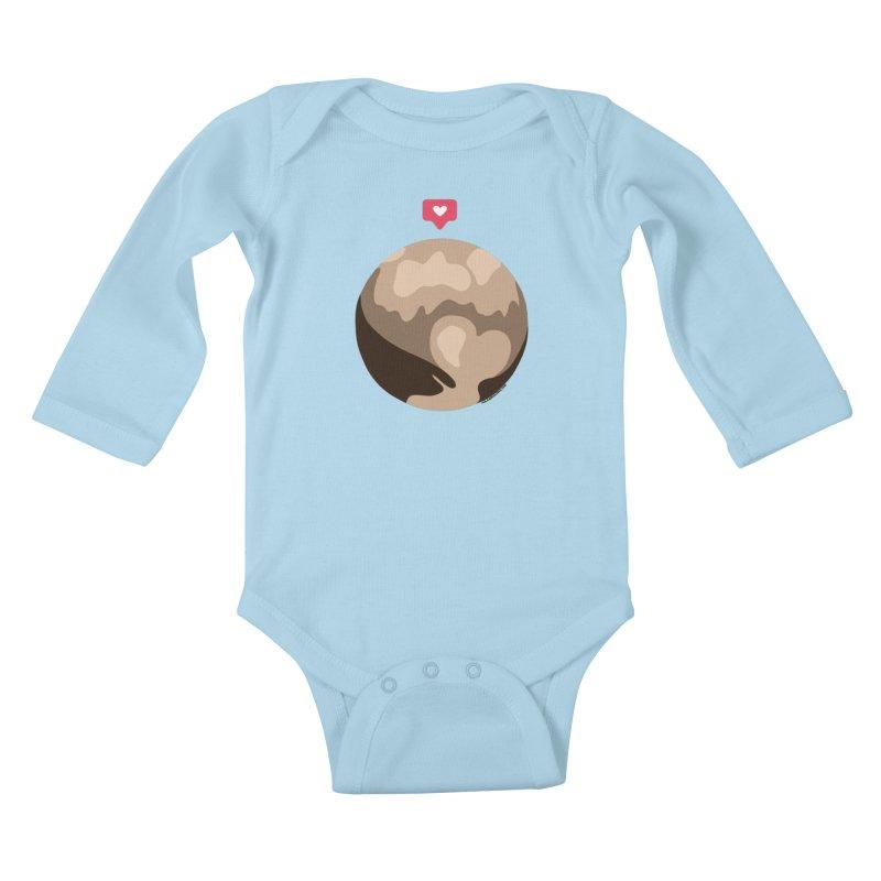 I like Pluto Kids Baby Longsleeve Bodysuit by Juleah Kaliski Designs