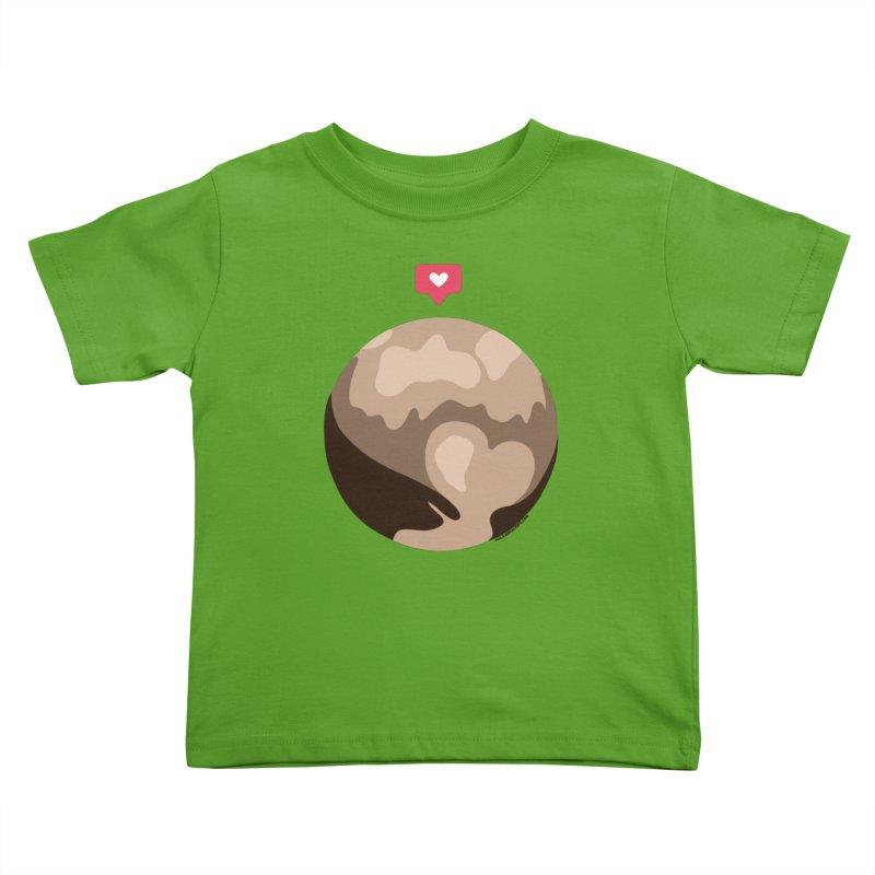 I like Pluto Kids Toddler T-Shirt by Juleah Kaliski Designs