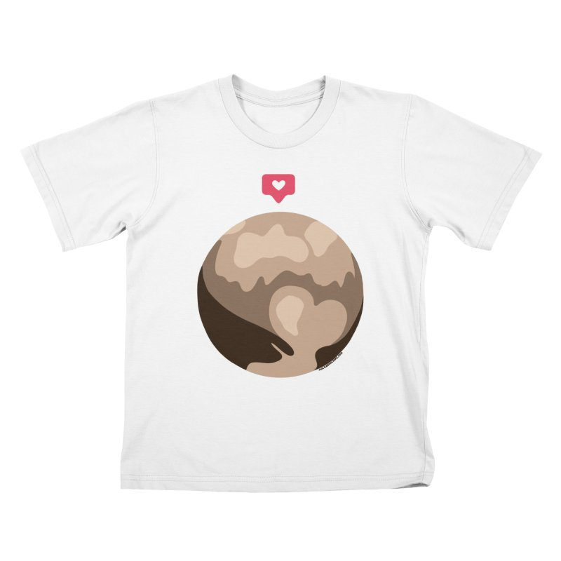 I like Pluto Kids T-Shirt by Juleah Kaliski Designs