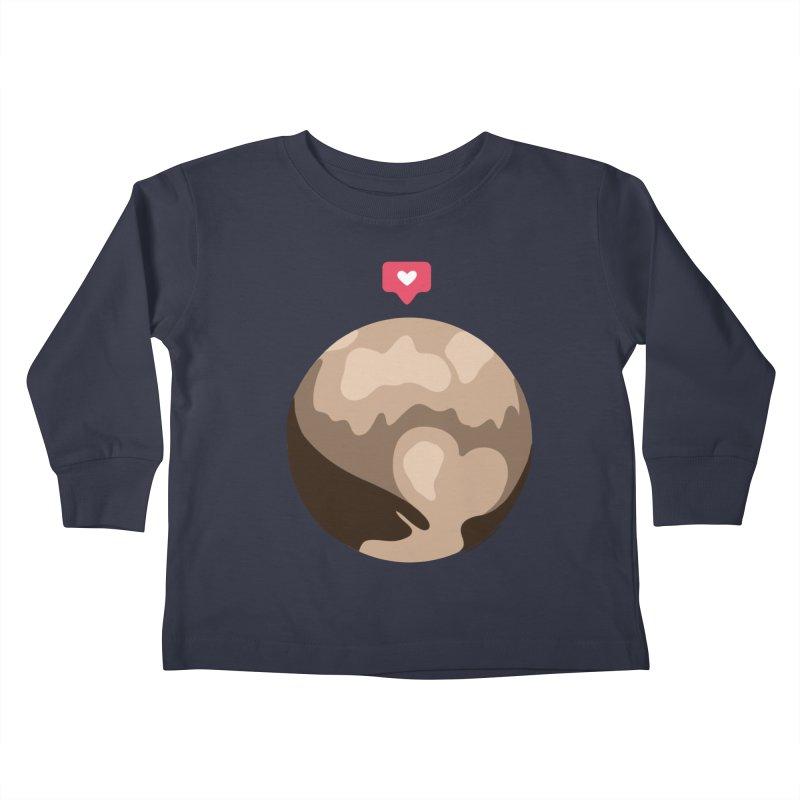 I like Pluto Kids Toddler Longsleeve T-Shirt by Juleah Kaliski Designs