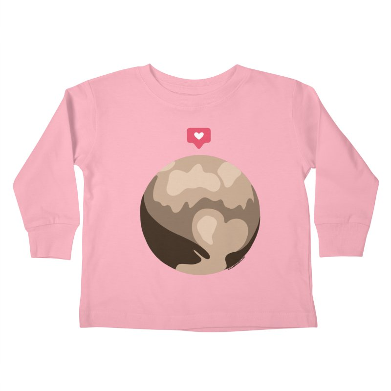 I like Pluto Kids Toddler Longsleeve T-Shirt by Juleah Kaliski Designs