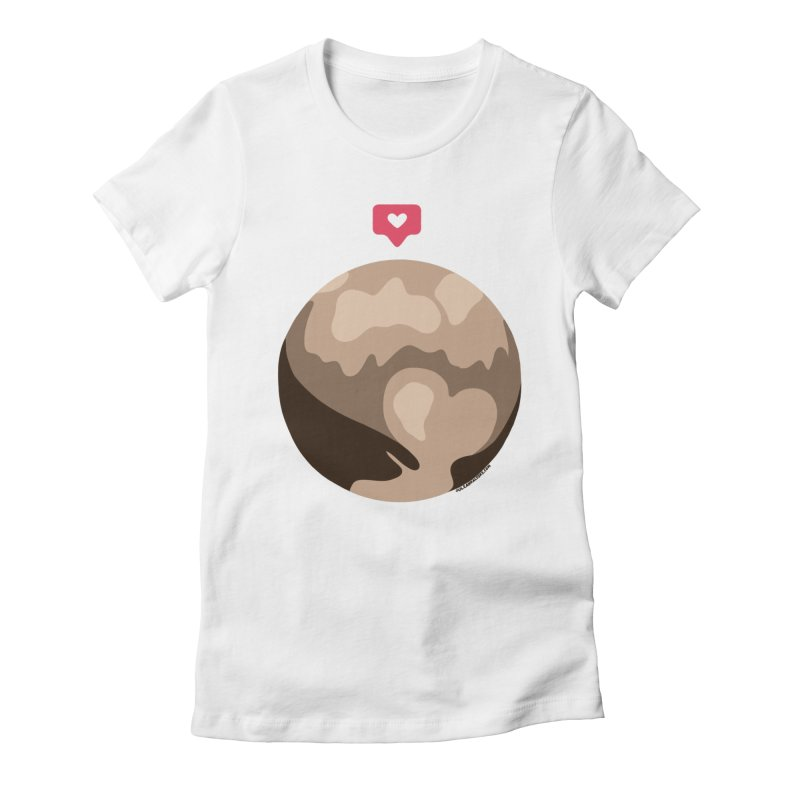 I like Pluto Women's Fitted T-Shirt by Juleah Kaliski Designs