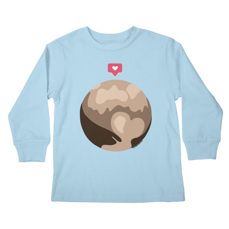 I like Pluto Kids Longsleeve T-Shirt by Juleah Kaliski Designs