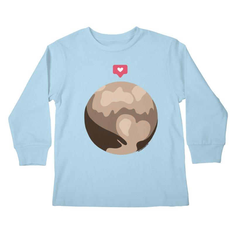 I like Pluto Kids Longsleeve T-Shirt by Juleah Kaliski Designs