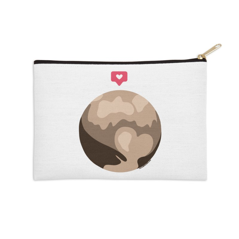 I like Pluto Accessories Zip Pouch by Juleah Kaliski Designs