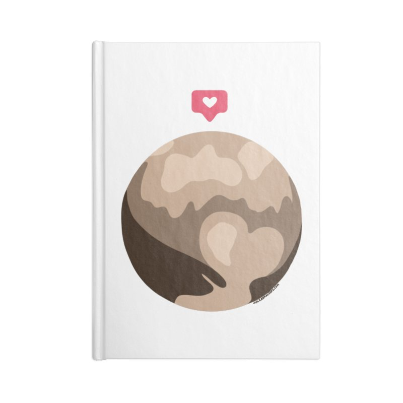 I like Pluto Accessories Notebook by Juleah Kaliski Designs