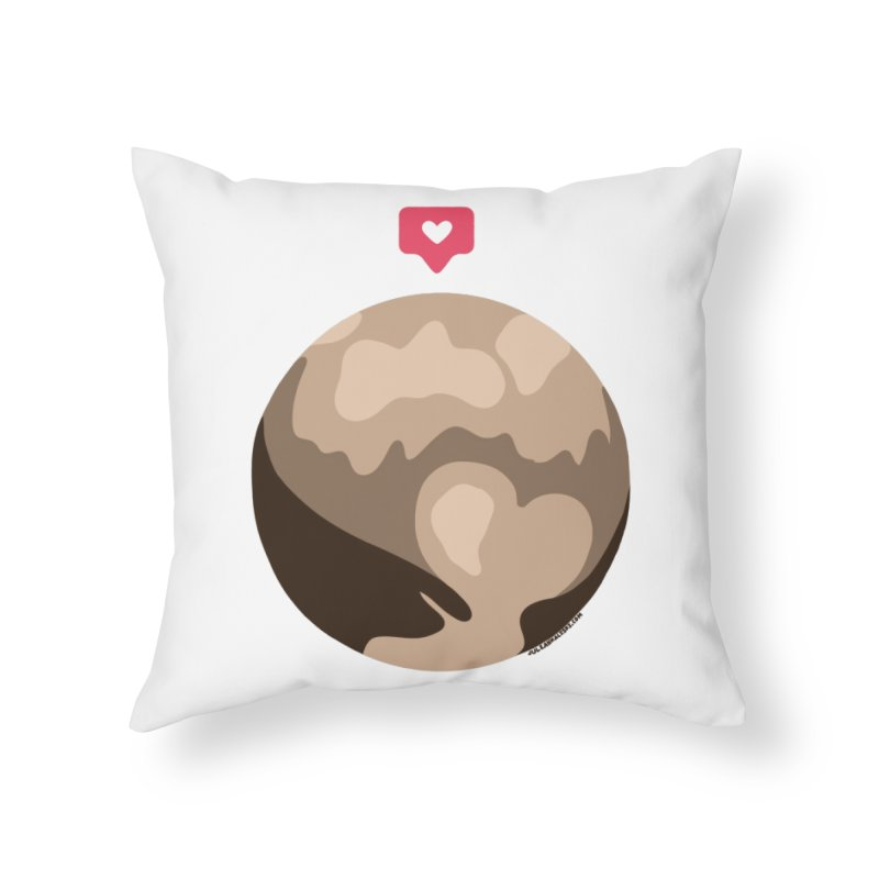 I like Pluto Home Throw Pillow by Juleah Kaliski Designs