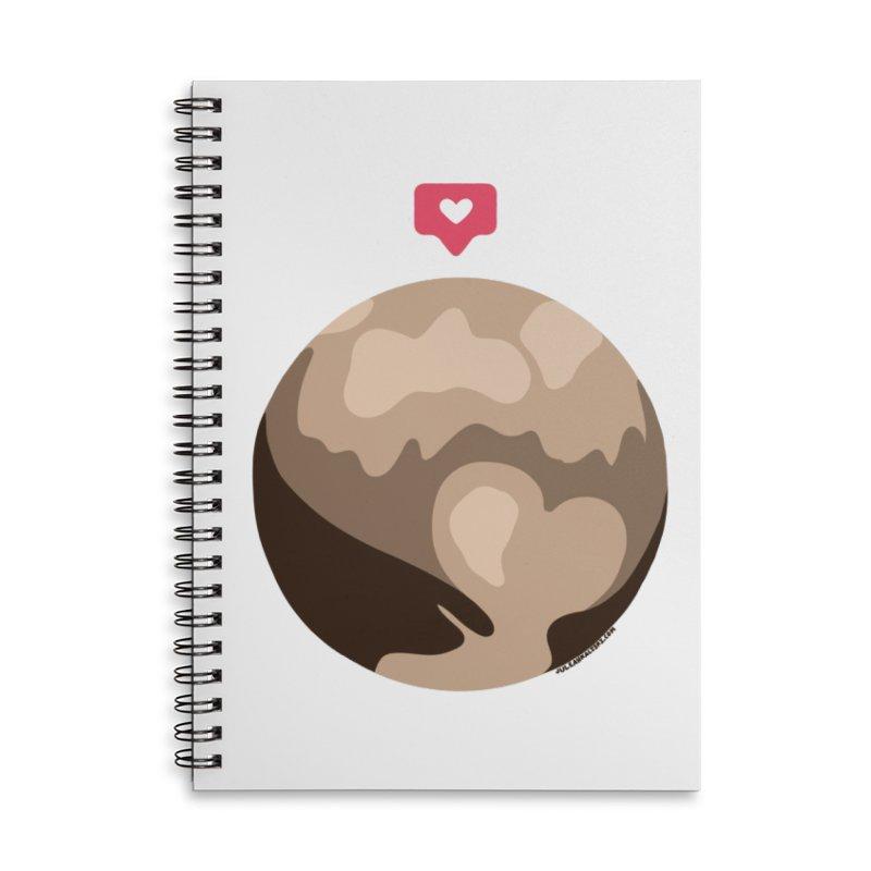 I like Pluto Accessories Notebook by Juleah Kaliski Designs