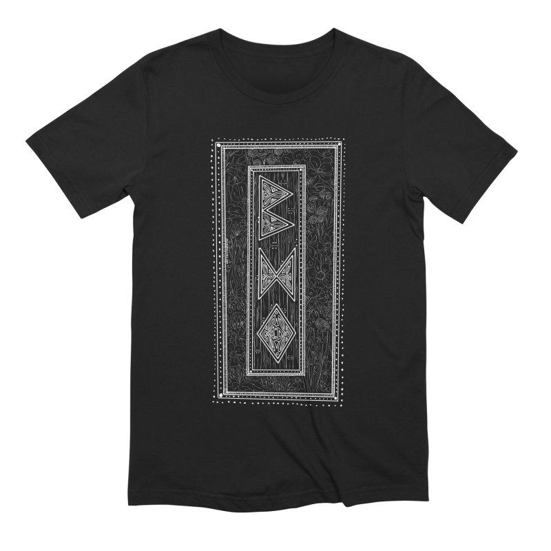 Burglars Mark Men's Extra Soft T-Shirt by Juleah Kaliski Designs