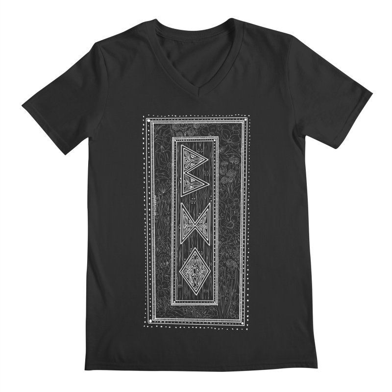 Burglars Mark Men's Regular V-Neck by Juleah Kaliski Designs