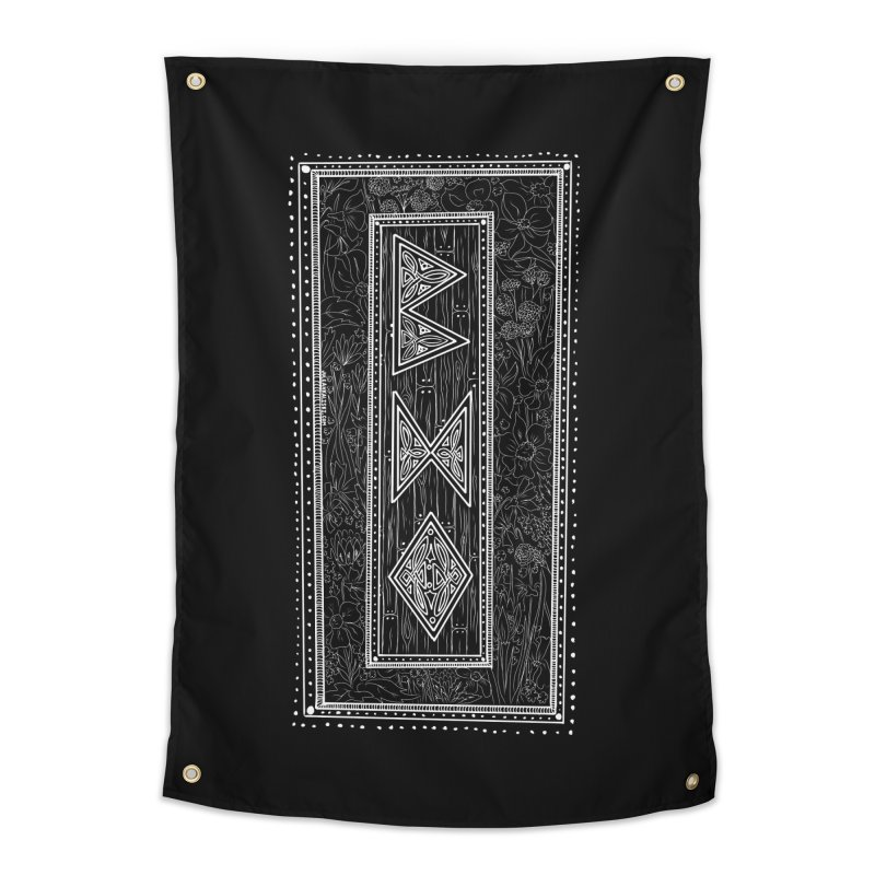 Burglars Mark Home Tapestry by Juleah Kaliski Designs