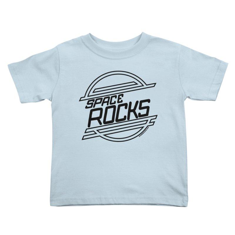 Space Rocks Kids Toddler T-Shirt by Juleah Kaliski Designs
