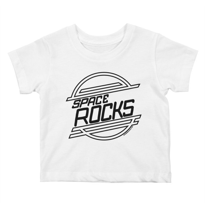 Space Rocks Kids Baby T-Shirt by Juleah Kaliski Designs