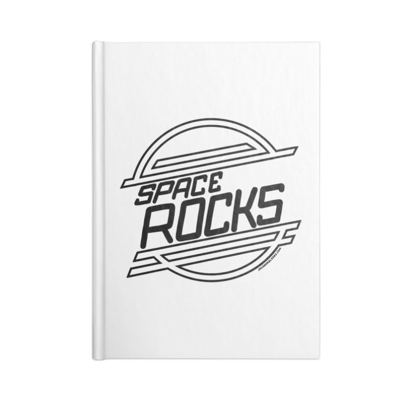 Space Rocks Accessories Notebook by Juleah Kaliski Designs