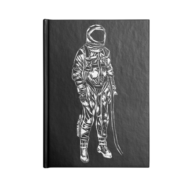 The astroGRIND - WHITE Accessories Notebook by Juleah Kaliski Designs