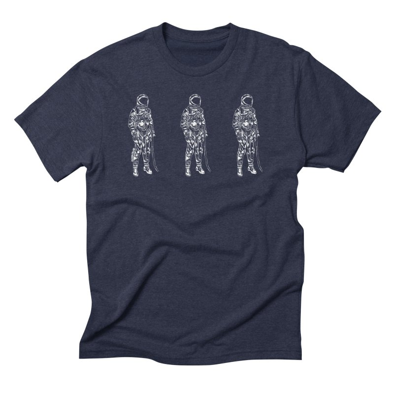 The astroGRIND - WHITE Men's T-Shirt by Juleah Kaliski Designs