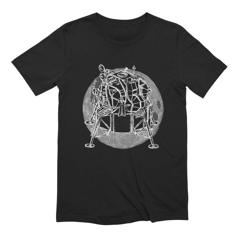 Apollo 15 Lunar Module Men's Extra Soft T-Shirt by Juleah Kaliski Designs