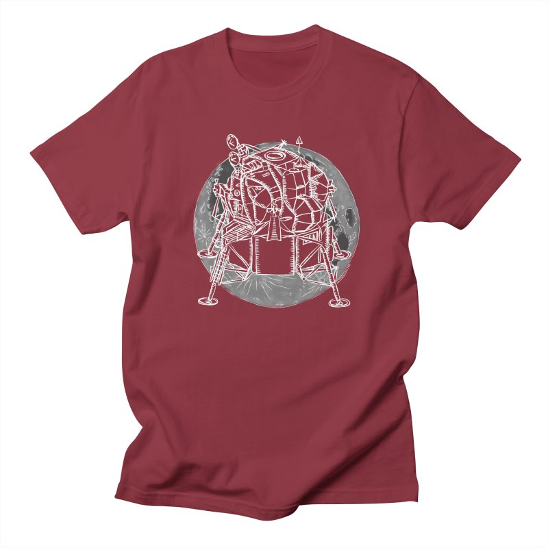 Apollo 15 Lunar Module Men's Regular T-Shirt by Juleah Kaliski Designs