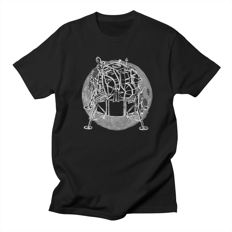 Apollo 15 Lunar Module Men's T-Shirt by Juleah Kaliski Designs