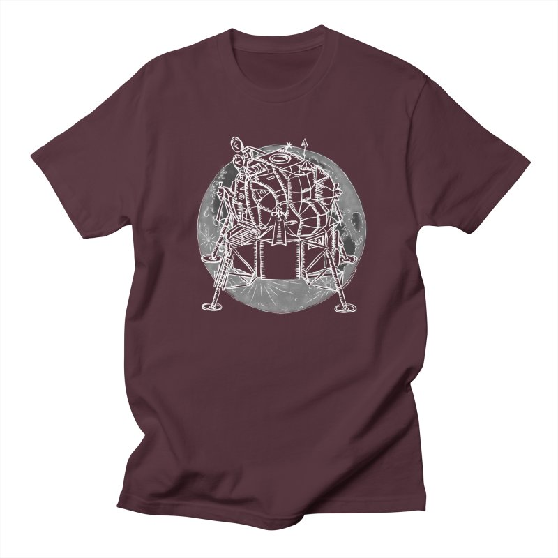 Apollo 15 Lunar Module Men's Regular T-Shirt by Juleah Kaliski Designs
