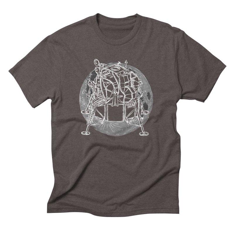 Apollo 15 Lunar Module Men's Triblend T-Shirt by Juleah Kaliski Designs