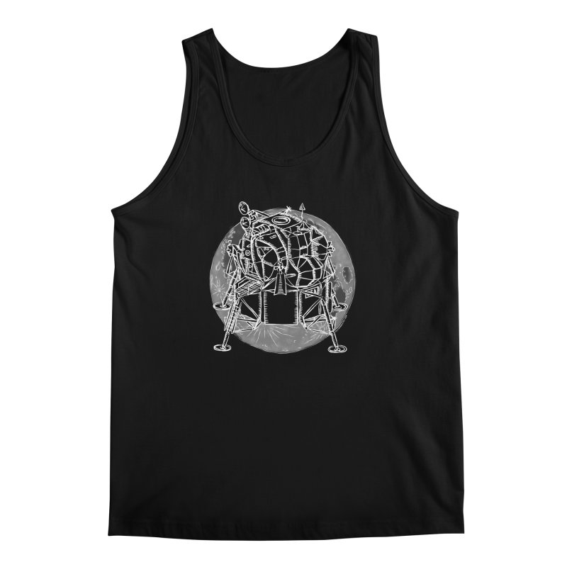 Apollo 15 Lunar Module Men's Regular Tank by Juleah Kaliski Designs