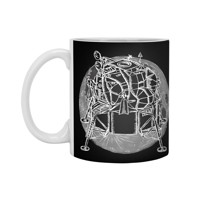 Apollo 15 Lunar Module Accessories Standard Mug by Juleah Kaliski Designs