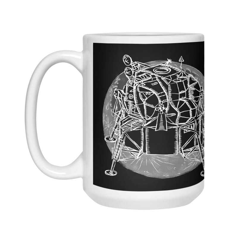 Apollo 15 Lunar Module Accessories Mug by Juleah Kaliski Designs