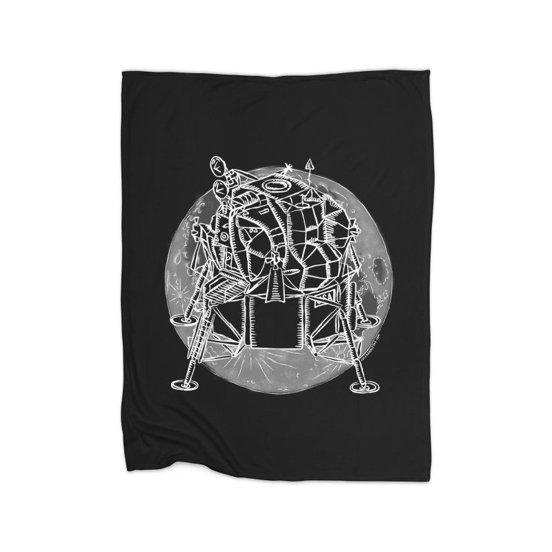 Apollo 15 Lunar Module Home Blanket by Juleah Kaliski Designs