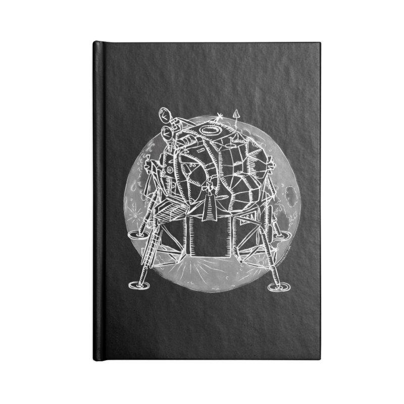 Apollo 15 Lunar Module Accessories Lined Journal Notebook by Juleah Kaliski Designs