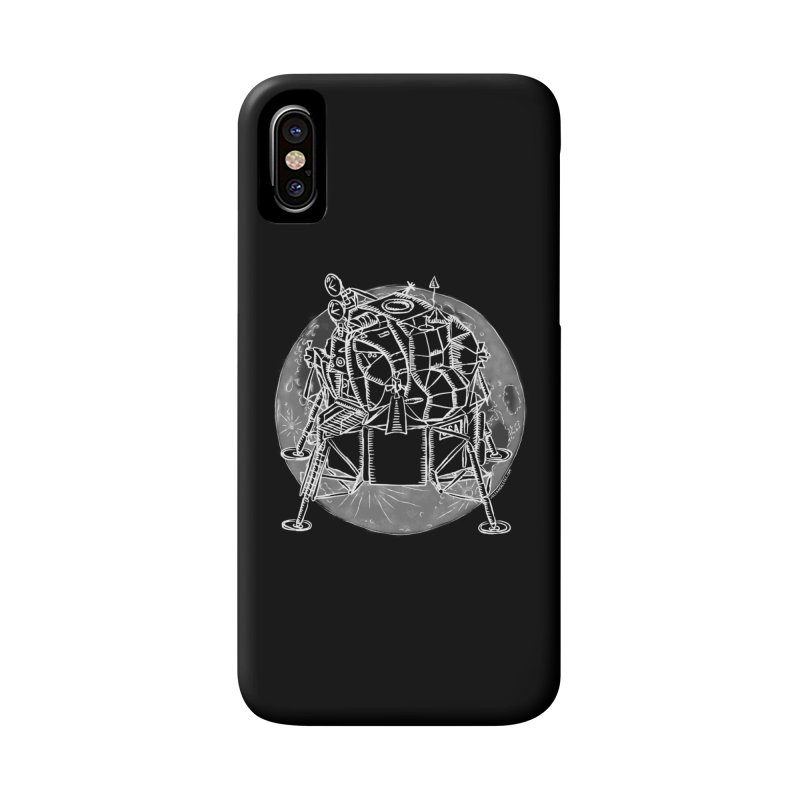 Apollo 15 Lunar Module Accessories Phone Case by Juleah Kaliski Designs