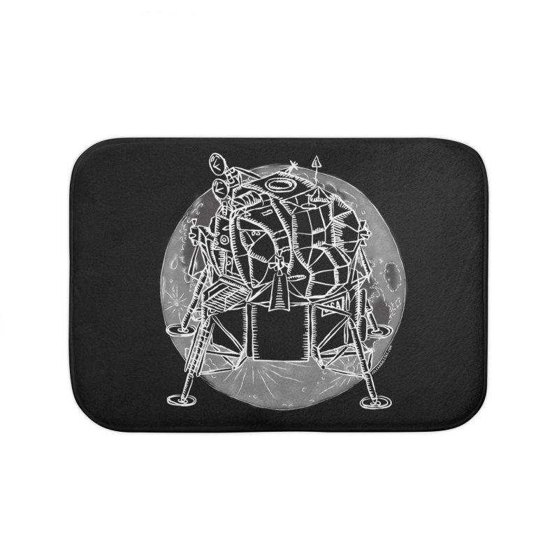 Apollo 15 Lunar Module Home Bath Mat by Juleah Kaliski Designs
